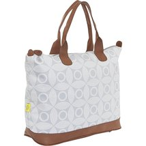 Amy Butler Marni Duffel Bag,Sun and Moon Gris,one size - $162.40