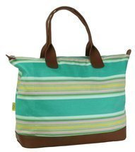 Amy Butler for Kalencom Meris Duffle Bag without Ribbon - Flatweave Stri... - $198.60