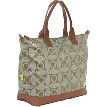 Amy Butler Marni Duffel Bag,Sun and Moon Sepia,one size - $162.40