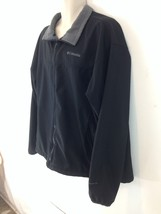 Columbia Mens XXL Black Fleece Lined Omni Shield Zip Front Jacket - $22.77