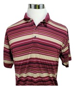 IZOD Golf Double Mercerized Polo Shirt Size M - £7.25 GBP