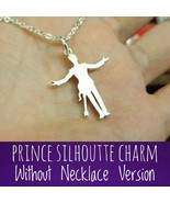 CHARM ONLY - Iconic Silhoutte - Remembrance - 925 Silver - Handmade - $42.00