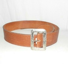 Gap Brown Wide Leather Belt Medium - ₹688.96 INR