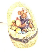 "Boyds Treasure Box ""Laurel Bearibean w/Picasso Mouski"" #392100- New- 2000 - $49.99"
