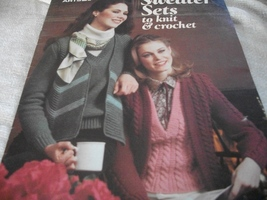 Sweater Sets to Knit & Crochet - $4.00