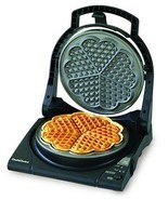 Waffle Maker Heart Best Chef Choice Nonstick El... - $97.61