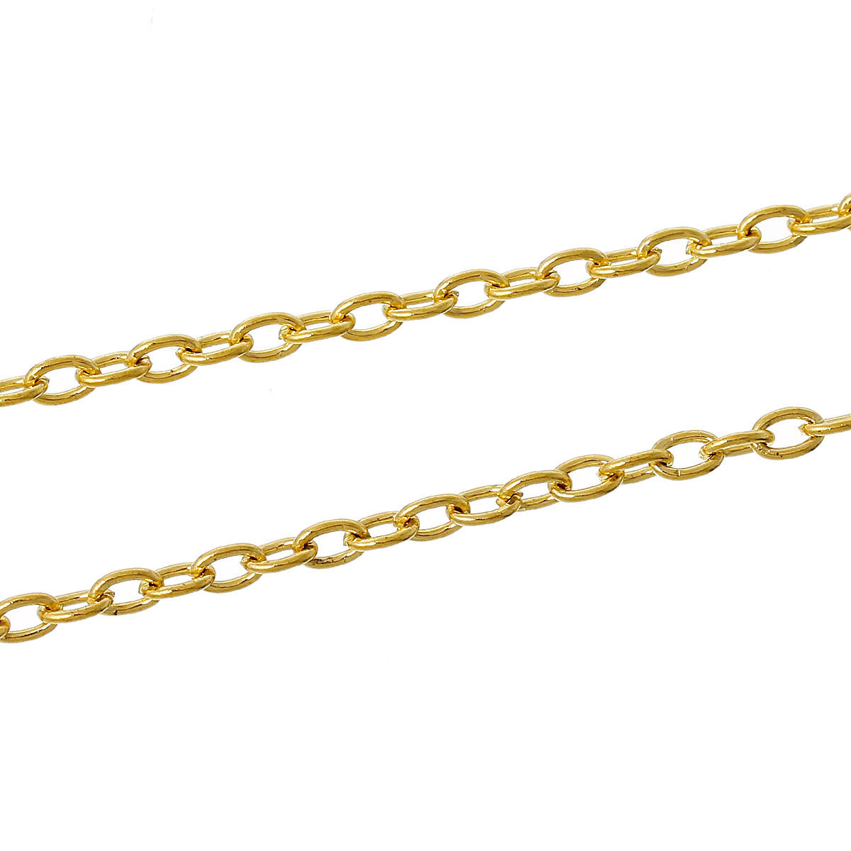3ft Stainless Steel Findings Rolo Link opened Cable Chains 2-6 mm Jewelry making
