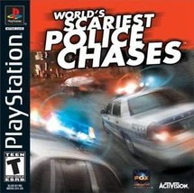 World's Scariest Police Chases PS1 Great Condition Fast Shipping - $9.93