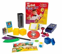 New Beginner Kids Magic Fantasy Toy Play Set w/ Tricks DVD Booklet Wand ... - $19.79