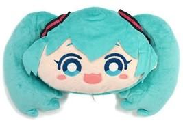 Hatsune Miku 2016 Big Face Cushion Plush  TAITO PRIZE Japan - $25.80