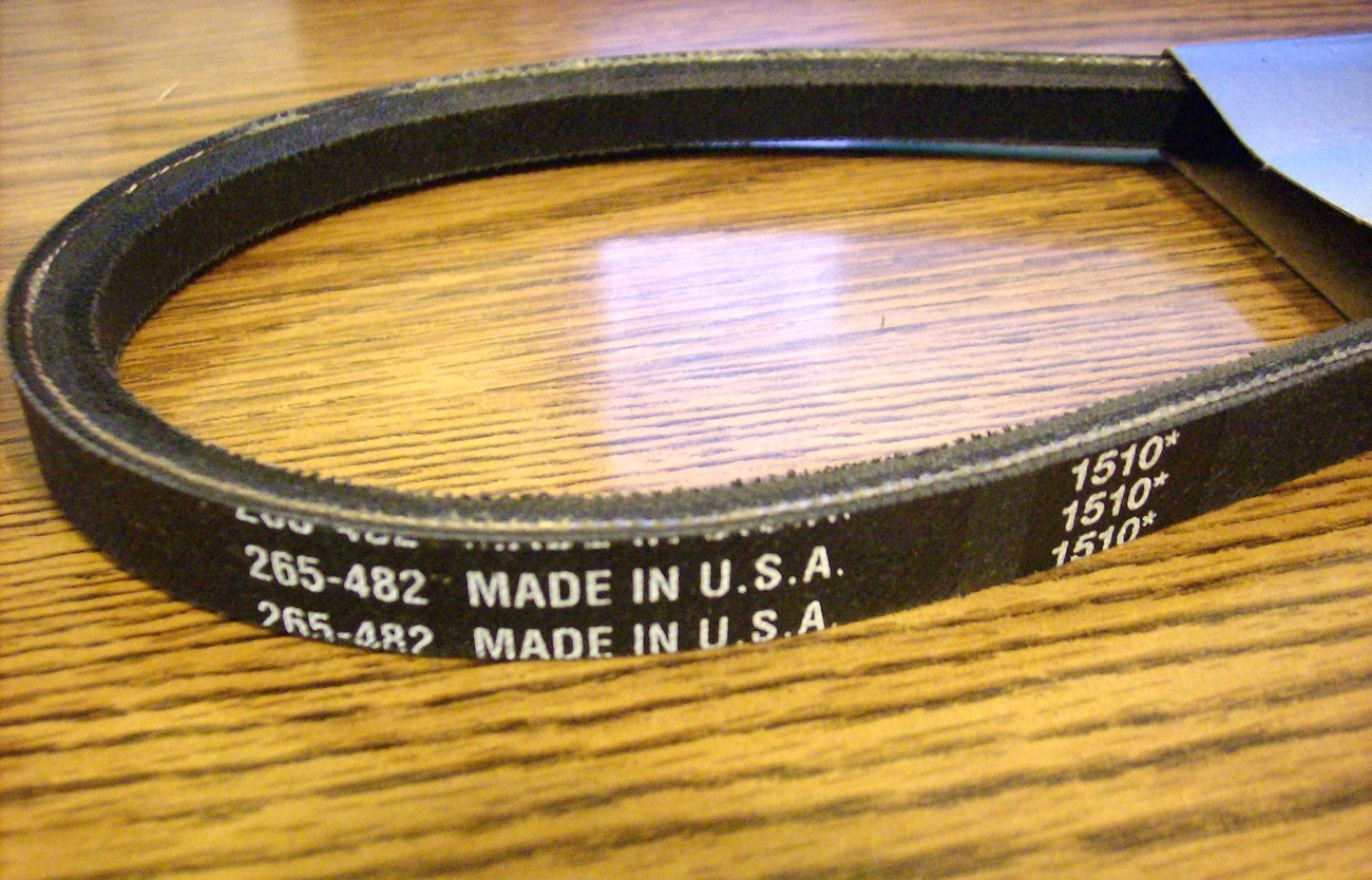 Exmark metro and Snapper pro gear transmission drive belt 1-323280 / 1-7334