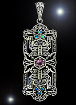 FREE W OOAK HAUNTED NECKLACE WITCHES BROOM BLESSINGS HIGH MAGICK 925 7 S... - $0.00