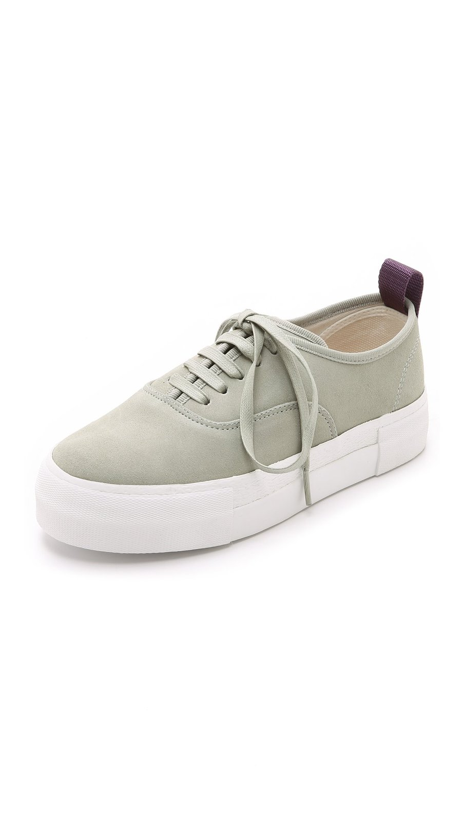 Eytys Women's Mother Suede Sneakers, Grey, 36 EU (6.5 B(M) US Women)