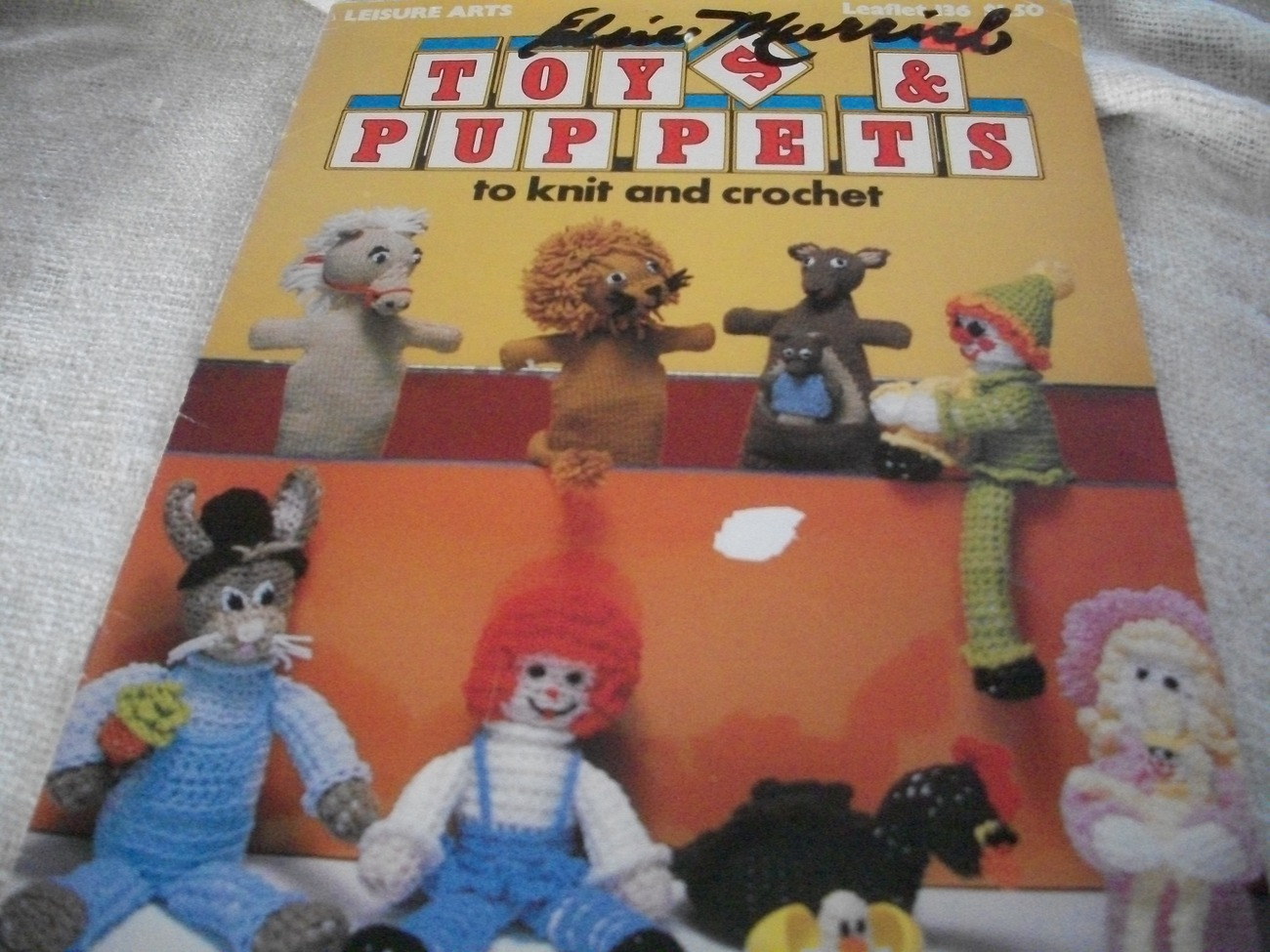 Primary image for Toys & Puppets to Knit & Crochet