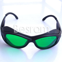 405nm-450nm 610nm-635nm-660nm-760n OD4+ Red/UV Laser Protective Goggles Glasses - $35.51