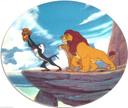 Disney Store Lion King Collector Plate Vintage 1994 - $59.95