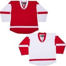 Detroit Red Wings Customized  NHL Style Replica Hockey Jersey w/ NAME & NUMBER - $42.13