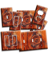 RUSTED OLD WOOD EYE RUSTIC LIGHT SWITCH WALL PL... - $8.99 - $19.79