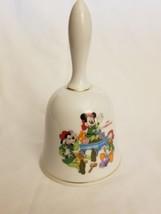 Grolier Disney 1993 Santa's Workshop Christmas Bell - $4.46