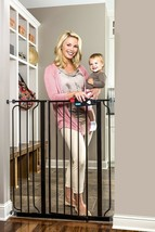 Regalo Easy Step Extra Tall Walk Thru Baby Gate, Bonus Kit, Includes 4-I... - $61.49
