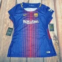 Women's 2017/18 Nike FCB Barcelona Home Soccer Jersey [847226-456/Large] - $49.45