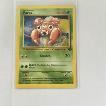 Pokemon Cards - 1st Edition Jungle  Paras 59/64 Near Mint Condition - $10.36