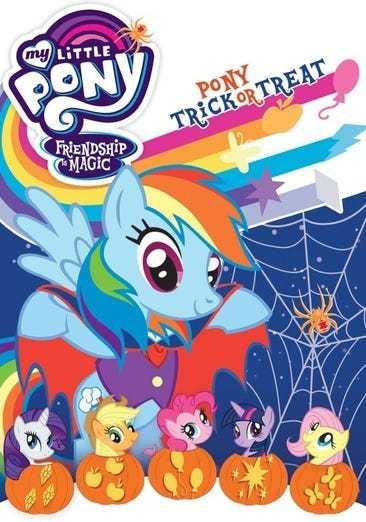 My little pony friendshp is magic pony trick or treat dvd