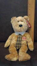 TY Beanie Baby ~ DAD-e 2003 Bear (Ty Store Exclusive) ~ NWT Retired PE Pellets - $3.99
