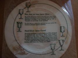 Lenox Harvest Wheat china white Dinner Plates circa 1980 - $15.00