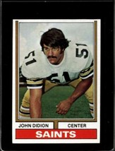 1974 TOPPS #504 JOHN DIDION NM SAINTS  *X2329 - $2.72