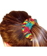 Wholesale Lot 12 Woven Hair Scrunchies Peru Mix Cotton Blend Fair Trade ... - $19.75