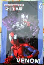 Ultimate SPIDER-MAN V6 Venom 4Pde Marvel Bendis Bagly Ramos Thibert Eliopoulos - $4.50