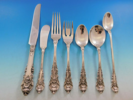 Sir Christopher by Wallace Sterling Silver Flatware Set 8 Service 61 pieces - $3,613.50
