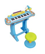 Piano Electronic Toy Child Keyboard Kids Musical 37 Key Microphone Music... - $84.15+