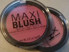 Rimmel Maxi Powder Blush 001 Third Base, 003 Wild Card READ DESC - $6.32+