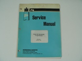 International Farmall Service Manual IH Model 48 56 600 Forage Blowers H... - $50.00
