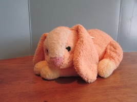 "Ty  Rattle Baby BUNNY RABBIT Pink 12"" Plush MWT 2001 Stuffed Animal Toy - $24.75"