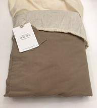 Restoration Hardware Garment-Dyed Percale Duvet Cover Twin Prairie NEW $209 - $129.99