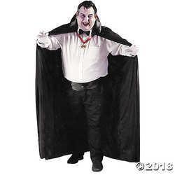 Men's Big & Tall Cape Costume