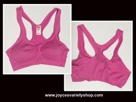 Women's Sport Support Bra Light Pink SZ Medium Light Padding image 1