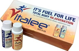 Vitalee AM and PM,  Fuel for  Life. (60 ml liquid 1 Box containing 7AM a... - $29.65