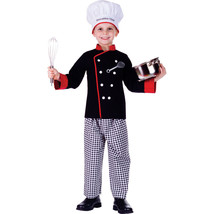 Executive Boy Chef Pants Hat Chef Coat Elastic Waistband  - $49.99