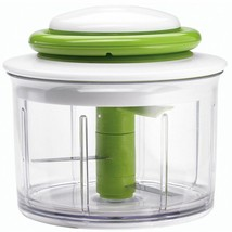 Compact Manual Vegetable Chopper Hand Powered Food Spices Slicer Mincers... - $33.69