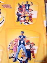 Lazy Town Stephanie Wrapping Paper Sheet Gift Book Cover Party Sportacus... - $12.82