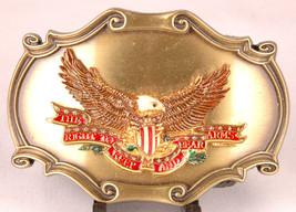 RAINTREE Brass Belt Buckle-The Right To Keep Bear Arms-2nd Amendment-197... - $37.39
