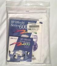 Hewlett Packard HP OfficeJet Series 600 Driver Software CD & Manuals Win... - $11.87
