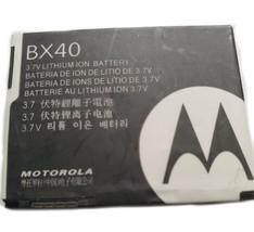 Original Internal Battery BX40 BX41 For Motorola V8 V9 V9M V9x U9 RAZR II 2 i9 - $7.88