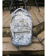 """J World Backpack Bookbag Rolling Sunrise Blinker White 18"""" - $24.24"""