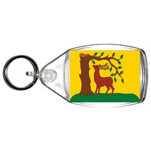 berkshire uk county keyring  handmade in uk from uk made parts, keyring, keyfob