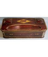 John Horn Ltd. Inkwell / Chocolate Tin from Stockport, England, early 19... - $42.75